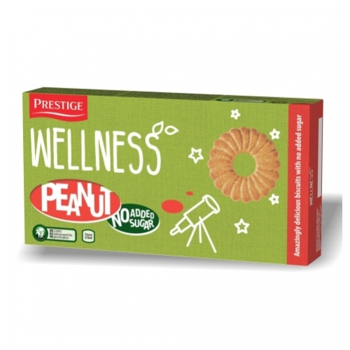 Wellness földimogyorós keksz édesítőszer