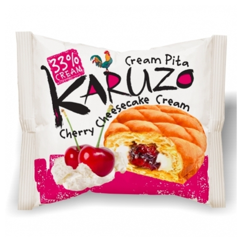 Karuzo Cherry cream pita krémtúrós-csere