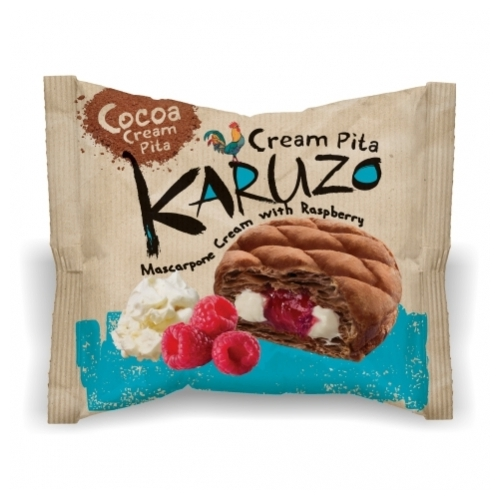 Karuzo Cocoa-Rasberry Pita 62g