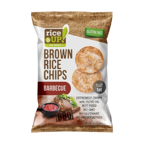 Rice-up barbecue rizs chips 60g