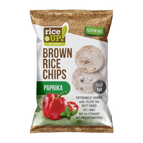 Rice-up paprikás rizs chips 60g