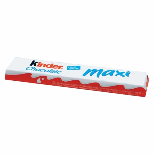 Kinder maxi chocolate T1