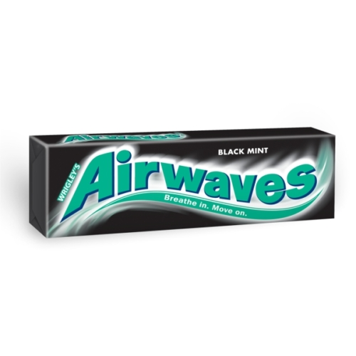 Airwaves drazsé Black mint  14g