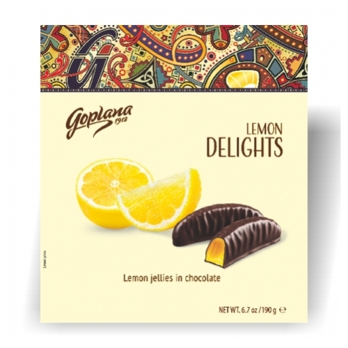 Goplana Lemon Delights citrom í.zs. 190g