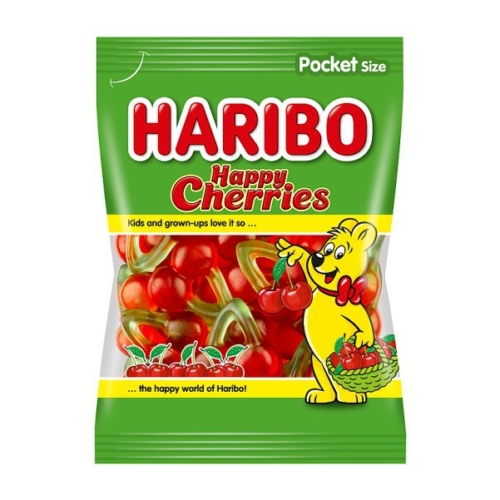 Haribo  gumicukor happy cherries 100g