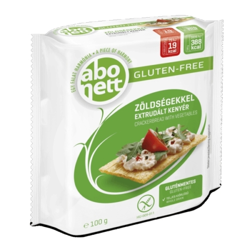 Abonett extrudált kenyér zöldség 100g