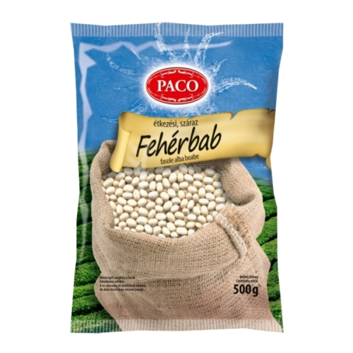 Pa-comp fehérbab                500g