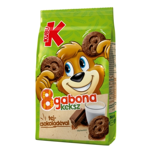 Kubu 8gabona keksz csoki        100g
