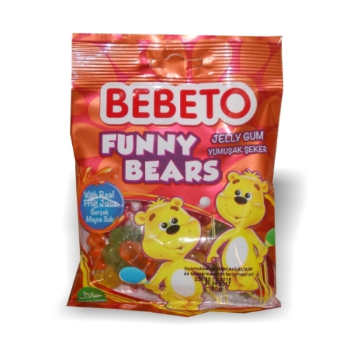 Bebeto gumicukor Funny Bears  80g