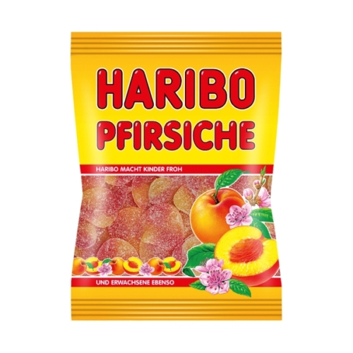 Haribo  gumicukor őszibarack    100g